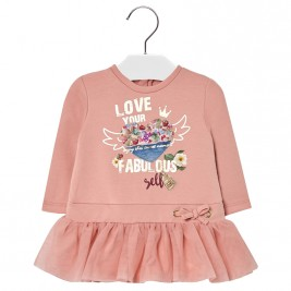 Βρεφικό Φόρεμα Mayoral 18-02948-046 Ροζ Κορίτσι