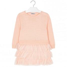 Παιδικό Φόρεμα Mayoral 18-04930-069 Nude Κορίτσι