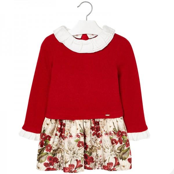 a0acc6ecb26 Παιδικό Φόρεμα Mayoral 18-04946-070 Κόκκινο Κορίτσι