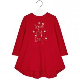 Παιδικό Φόρεμα Mayoral 18-04964-055 Κόκκινο Κορίτσι