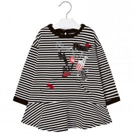 Παιδικό Φόρεμα Mayoral 18-04977-032 Μαύρο Κορίτσι