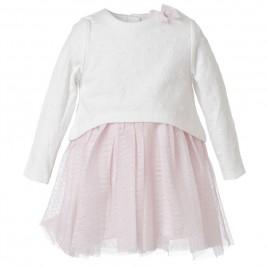 Βρεφικό Φόρεμα Energiers 14-118406-7 Ροζ Κορίτσι