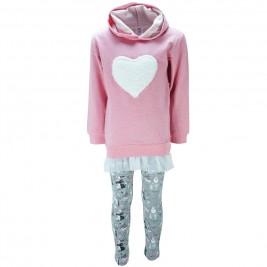 Παιδικό Σετ-Σύνολο NCollege 39-879 Ροζ Κορίτσι