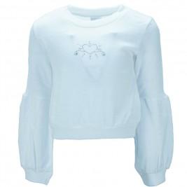 Παιδική Μπλούζα NCollege 39-9076 Εκρού Κορίτσι