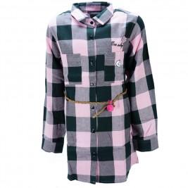 Παιδικό Πουκάμισο NCollege 39-6050 Καρρώ Κορίτσι