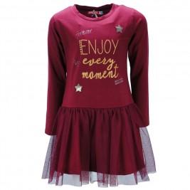 Παιδικό Φόρεμα Energiers 16-118203-7 Μπορντώ Κορίτσι