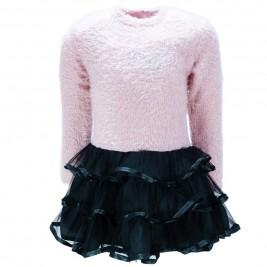 Παιδικό Φόρεμα NCollege 39-767 Σομόν Κορίτσι