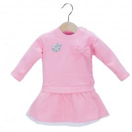 Βρεφικό Φόρεμα NCollege 39-8706 Σομόν Κορίτσι
