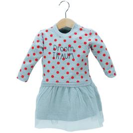 Βρεφικό Φόρεμα NCollege 39-8708 Μελανζέ Κορίτσι