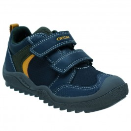 Παιδικό Casual Geox J8434A 05454 C0657.C Μπλε Κίτρινο