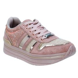 Γυναικεία Sneakers Bass3D 41551 Nude