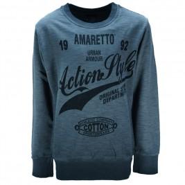 Παιδική Μπλούζα Amaretto A2859 Ανθρακί Αγόρι