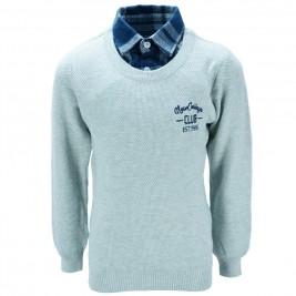 Παιδική Μπλούζα NCollege 39-301 Γκρι Αγόρι