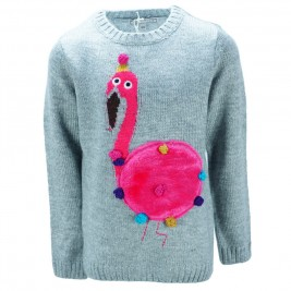 Παιδική Μπλούζα NCollege 39-455 Γκρι Κορίτσι