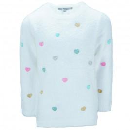 Παιδική Μπλούζα NCollege 39-355 Εκρού Κορίτσι