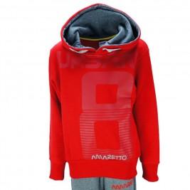 ... Παιδική Φόρμα-Σετ Amaretto A2852 Κόκκινο Αγόρι 359cbbfd26e