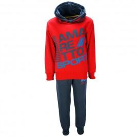 Παιδική Φόρμα-Σετ Amaretto B2818 Κόκκινο Αγόρι