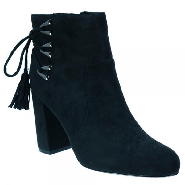 Γυναικείο Μποτάκι Exe Carina-633 Μαύρο