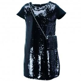 Παιδικό Φόρεμα Εβίτα 187194 Μαύρο Κορίτσι