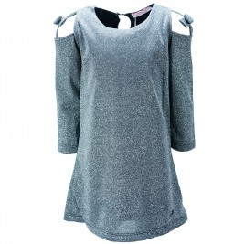 Παιδικό Φόρεμα Εβίτα 187069 Ασημί Κορίτσι