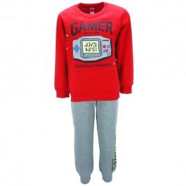 Παιδική Φόρμα-Σετ Joyce 83212 Κόκκινο Αγόρι