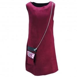 Παιδικό Φόρεμα Joyce 88401 Μπορντώ Κορίτσι