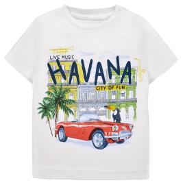 Βρεφική Μπλούζα Mayoral 29-01026-056 Λευκό Αγόρι