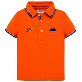 Βρεφική Μπλούζα Mayoral 29-01117-054 Πορτοκαλί Αγόρι