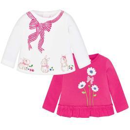 Βρεφικό Σετ Μπλούζες Mayoral 29-01003-089 Φούξια Κορίτσι