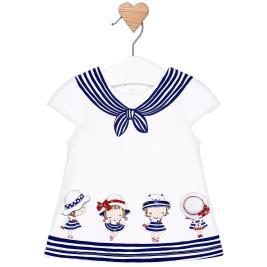 Βρεφικό Φόρεμα Mayoral 29-01809-043 Μπλε Κορίτσι