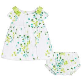 Βρεφικό Φόρεμα Mayoral 29-01833-023 Πράσινο Κορίτσι