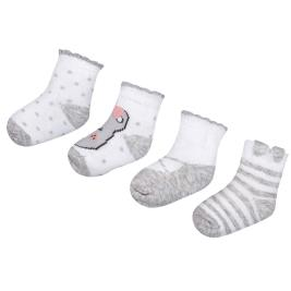 Βρεφικές Κάλτσες Σετ Mayoral 29-09078-096 Γκρι Κορίτσι