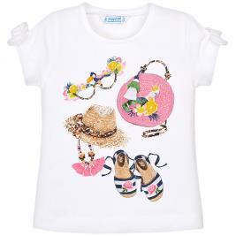 Παιδική Μπλούζα Mayoral 29-03009-042 Λευκό Κορίτσι