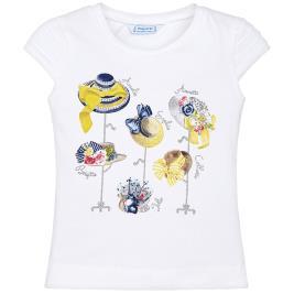 Παιδική Μπλούζα Mayoral 29-03013-016 Λευκό Κορίτσι