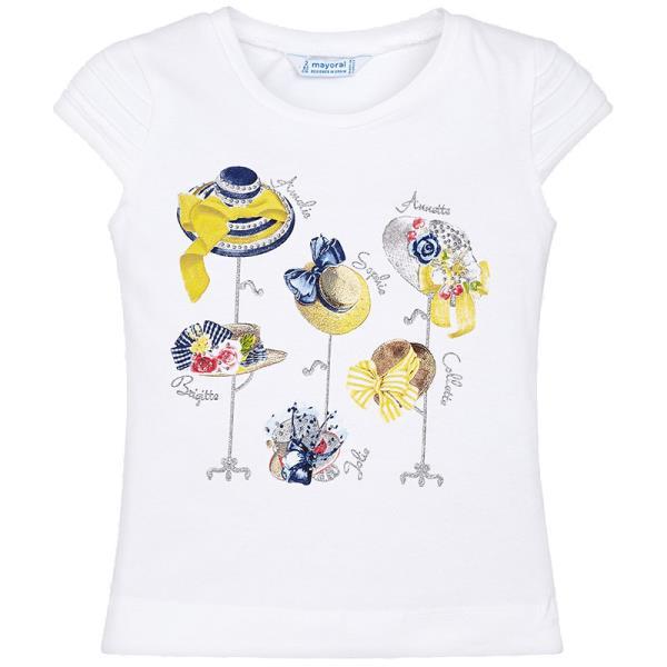 f1221869aa9b Παιδική Μπλούζα Mayoral 29-03013-016 Λευκό Κορίτσι
