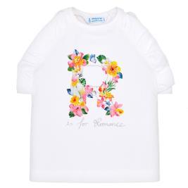 Παιδική Μπλούζα Mayoral 29-03020-031 Λευκό Κορίτσι
