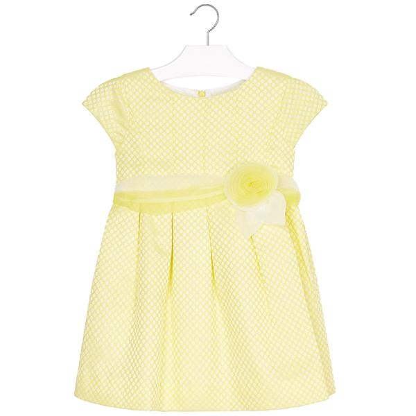 9dacce504468 Παιδικό Φόρεμα Mayoral 29-03912-071 Κίτρινο Κορίτσι