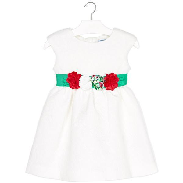 c3818276a636 Παιδικό Φόρεμα Mayoral 29-03919-024 Λευκό Κορίτσι