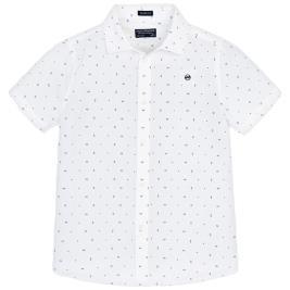 Παιδικό Πουκάμισο Mayoral 29-06126-056 Λευκό Αγόρι