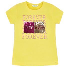 Παιδική Μπλούζα Mayoral 29-06019-020 Κίτρινο Κορίτσι