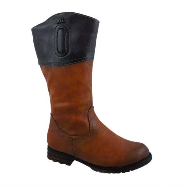Παιδική Μπότα Xti 52014 Κάμελ. Παιδικά - Παιδική Μπότα Xti 52014 Κάμελ.  Παιδική μπότα με φερμουάρ του οίκου ισπανικού οίκου Xti. 26a00c05fa8