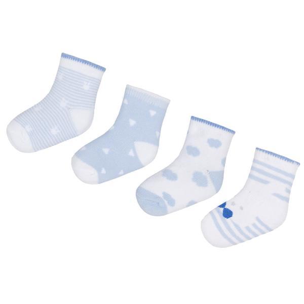 Βρεφικές Κάλτσες Σετ Mayoral 29-09006-048 Σιέλ Αγόρι 32df1325b16