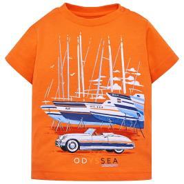 Βρεφική Μπλούζα Mayoral 29-01020-036 Πορτοκαλί Αγόρι