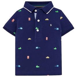 Βρεφική Μπλούζα Mayoral 29-01118-017 Μπλε Αγόρι
