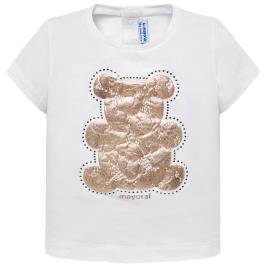 Βρεφική Μπλούζα Mayoral 29-00105-053 Λευκό Κορίτσι