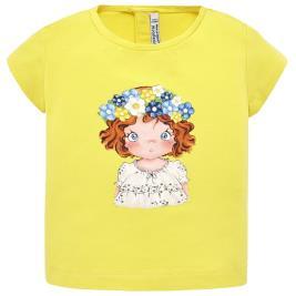 Βρεφική Μπλούζα Mayoral 29-01014-011 Κίτρινο Κορίτσι