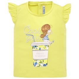 Βρεφική Μπλούζα Mayoral 29-01016-031 Κίτρινο Κορίτσι