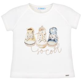 Παιδική Μπλούζα Mayoral 29-03004-082 Εκρού Κορίτσι