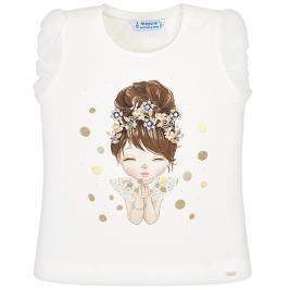 Παιδική Μπλούζα Mayoral 29-03008-089 Εκρού Κορίτσι