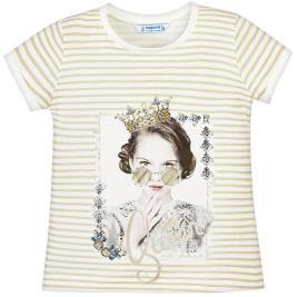 Παιδική Μπλούζα Mayoral 29-03010-038 Μπεζ Κορίτσι